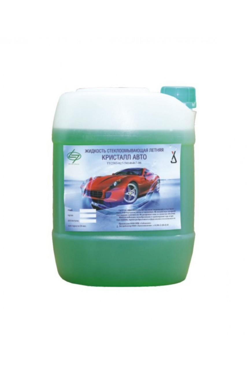 Кристалл Авто - Летняя стеклоомывающая жидкость